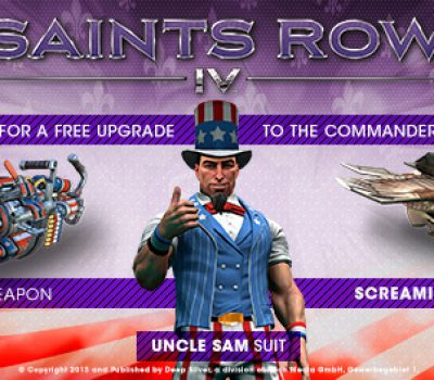 Saints Row IV: Pre-Order Now for the Commander-in-Chief Edition