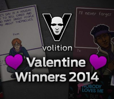Announcing the winners of our Saints Row Valentine's Day Contest!