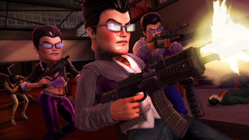 saints row the third download character